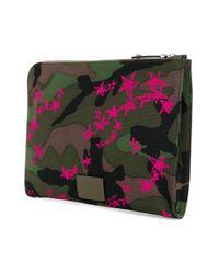 Valentino - Green Garavani Rockstud Laptop Sleeve for Men - Lyst