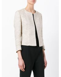 Tagliatore - Multicolor Fitted Tweed Jacket - Lyst