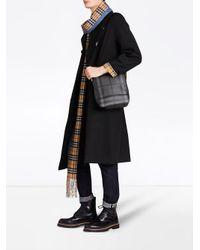 Burberry - Black London Check Crossbody Bag - Lyst