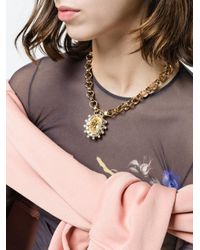 DANNIJO - Metallic Canary Necklace - Lyst