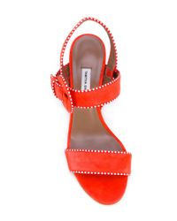 Tabitha Simmons - Red Loreto Sandals - Lyst