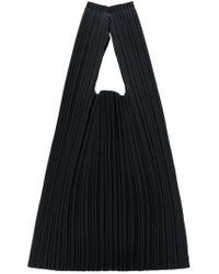 Pleats Please Issey Miyake - Black Shopping Tote - Lyst