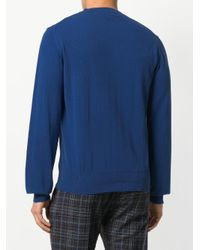 Vivienne Westwood - Blue Classic Logo Jumper for Men - Lyst