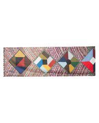 Pierre Louis Mascia - Multicolor Colour Block Scarf - Lyst