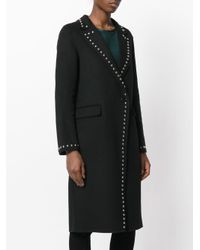 P.A.R.O.S.H. - Black Lover Coat - Lyst