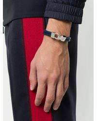 Northskull - Blue Hook Link Bracelet for Men - Lyst