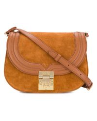 MCM - Brown Trisha Shoulder Bag - Lyst