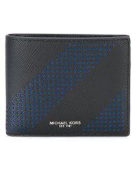 Michael Kors - Black 'harrison' Billfold Wallet for Men - Lyst
