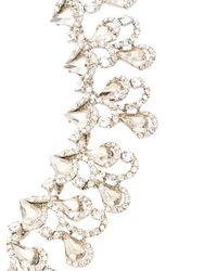 Oscar de la Renta - Metallic Baroque Crystal Necklace - Lyst