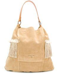 Patrizia Pepe - Natural Shopper Shoulder Bag - Lyst