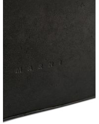 Marni - Black Square Tote Bag - Lyst