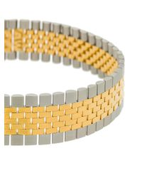 Alexander Wang - Metallic Watch Band Necklace - Lyst