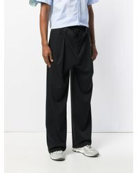 Y. Project Black Straight-leg Tailored Trousers for men