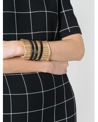FEDERICA TOSI - Metallic Thick Bracelet - Lyst