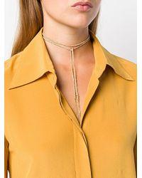 Carolina Bucci - Metallic Peace Charm Necklace - Lyst