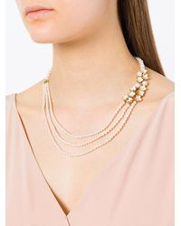 Shaun Leane | Multicolor Cherry Blossom Pearl And Diamond Necklace | Lyst