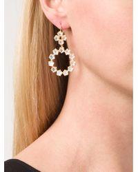 Marie-hélène De Taillac - Metallic 22kt Gold 'rainbow' Moonstone Earrings - Lyst