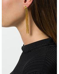 Rachel Entwistle - Multicolor Primitive Draped Earrings - Lyst