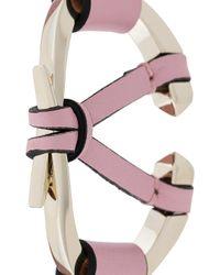 Valentino - Pink Garavani V Bracelet - Lyst