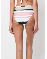 Asceno - Multicolor Bold Striped Bikini - Lyst