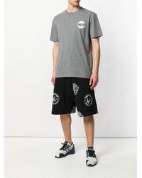 McQ Alexander McQueen - Gray Graphic Patch T-shirt for Men - Lyst