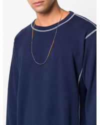 M. Cohen - Metallic Beaded Necklace for Men - Lyst