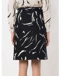 Egrey - Blue Printed Skirt - Lyst