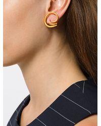 Charlotte Chesnais - Metallic Round Trip Earrings - Lyst