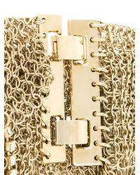 Lanvin - Natural Crystal Chain Fringe Bracelet - Lyst