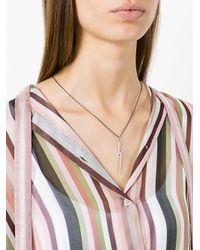 Ileana Makri - Metallic Large Thunder Pendant Necklace - Lyst