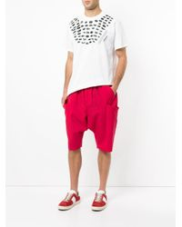 Yoshiokubo - Pink Sapeur Shorts for Men - Lyst