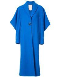 Roksanda - Blue Butterfly Sleeve Coat - Lyst