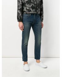 Levi's - Blue Faded Effect Jeans for Men - Lyst