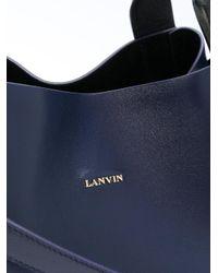 Lanvin - Blue Cabas Tote Bag - Lyst