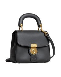 Burberry - Black Small Dk88 Top Handle Bag - Lyst