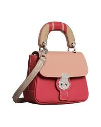Burberry - Pink Mini Dk88 Top Handle Bag - Lyst
