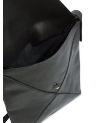 Ma+ - Black Envelope Shoulder Bag for Men - Lyst