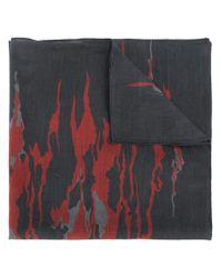 DIESEL - Black Abstract-print Bandana for Men - Lyst