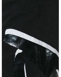KENZO - Black Logo Print Slim-fit Jeans for Men - Lyst