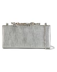 Jimmy Choo - Gray Celeste Clutch - Lyst