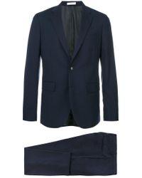Boglioli - Blue Formal Suit for Men - Lyst