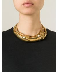 Aurelie Bidermann - Metallic 'body' Necklace - Lyst