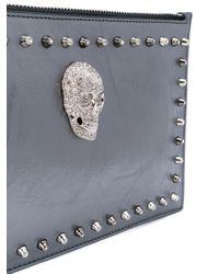 Philipp Plein - Metallic Baby Love Clutch Bag - Lyst