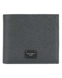 Dolce & Gabbana - Gray Billfold Wallet for Men - Lyst