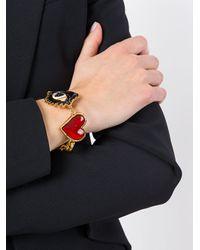 DSquared² - Metallic Charm Bracelet - Lyst