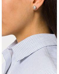 Wouters & Hendrix - Metallic Curiosities Pearl Earrings - Lyst