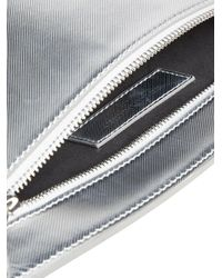 Burberry - Metallic Embossed Logo Pouch - Lyst