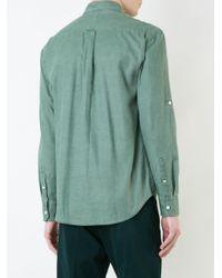 Cerruti 1881 | Green Longsleeve Shirt for Men | Lyst