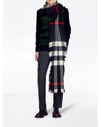 Burberry - Green Fair Isle Sweater for Men - Lyst