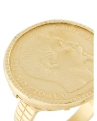 Wouters & Hendrix - Metallic Coin Ring - Lyst